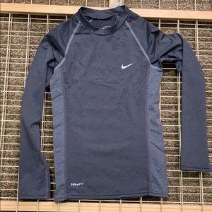 Boys Nike fit dry long sleeve